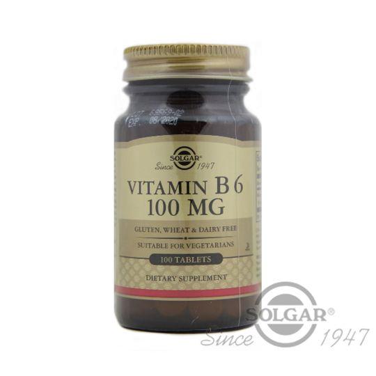 Витамин В6 100 мг, 100 табл