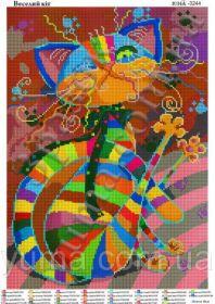 Весёлый кот. А3 (набор 1450 рублей) ЮМА - 3244
