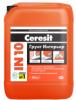 Грунт Интерьер 10л для внутренних работ под финишную отделку Ceresit IN 10