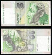 Словакия 20 крон 1995