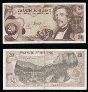 Австрия 20 шиллингов 1967