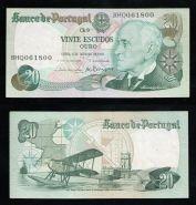 Португалия 20 эскудо 1978 г. САМОЛЕТ