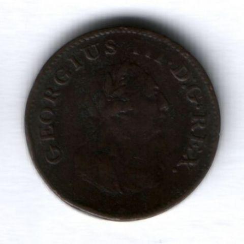 1 фартинг 1806 г. Ирландия