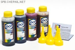 Комплект чернил OCP для HP #650/651/662/678 (BKP 249, С/M/Y 149), 100 g x4