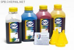 Комплект чернил OCP для HP #650/651/662/678 (BKP 249, С/M/Y 149), 500 g x4