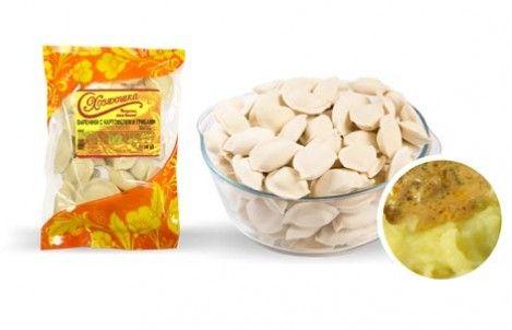 Вареники Хозяюшка с картофелем и грибами 0,4 кг