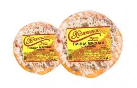 Пицца Хозяюшка мясная с грибами 0,15кг Красноярск