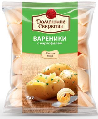 Вареники ДС с картофелем 900г Сибирский гурман