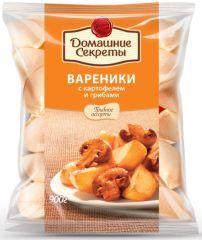 Вареники ДС с картофелем и грибами 900г Сибирский гурман
