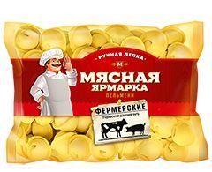 Пельмени Мясная ярмарка Фермерские р/л  800г Сибирский Гурман