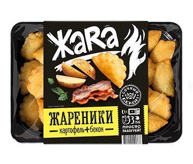 Жареники с картофелем и беконом Жара 300г Сибирский гурман