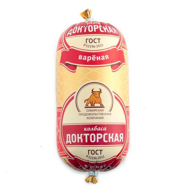 Колбаса Докторская вар. полиамид 450г СПК