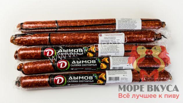 Салями Охотничья п/к в/у 180г Дымов