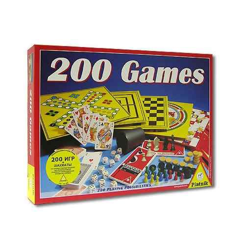 200 игр + шахматы