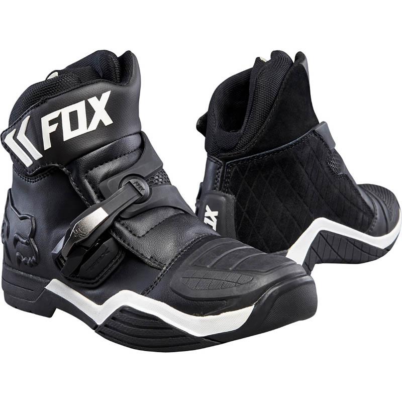 Fox Bomber Black мотоботы, чёрные