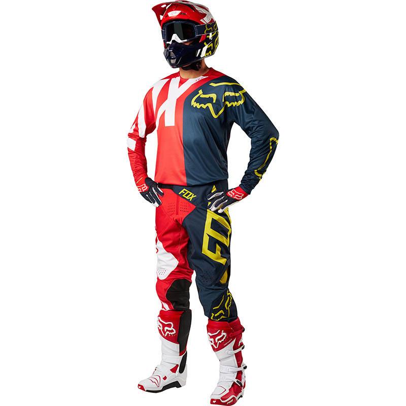 Fox - 2018 360 Preme Navy/Red комплект джерси и штаны, сине-красный