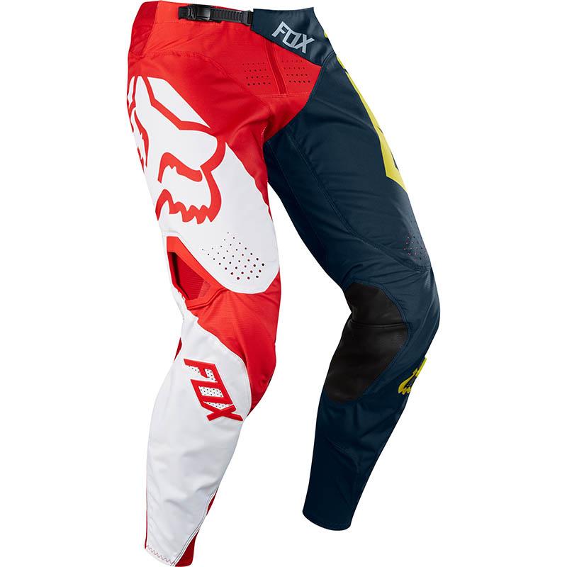 Fox - 2018 360 Preme Pant Youth Navy/Red штаны подростковые, сине-красные