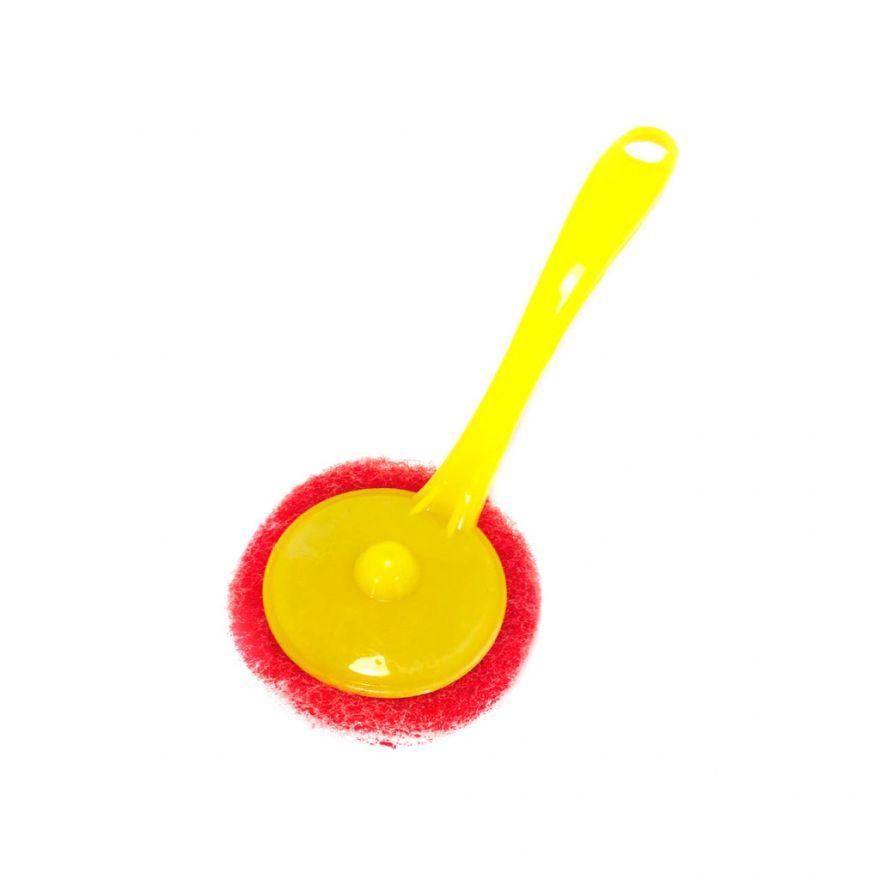 Щётка со сменными абразивными губками Scrubbing Sponges