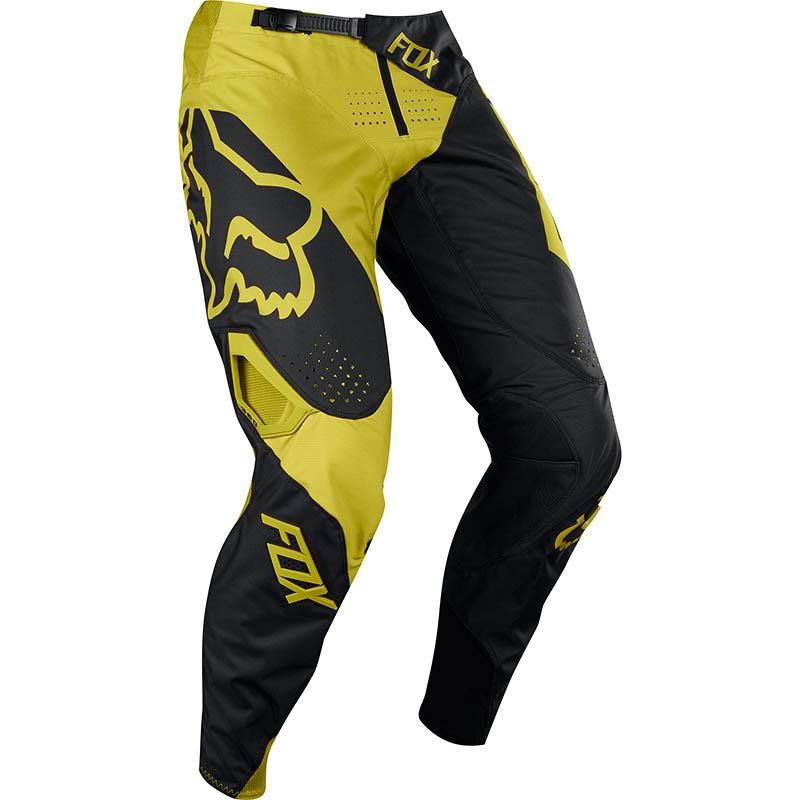 Fox - 2018 360 Preme Dark Yellow штаны, темно-желтые