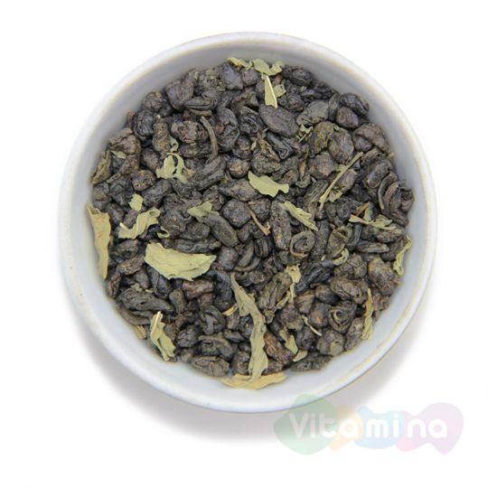 Зеленый чай с мятой, 100г