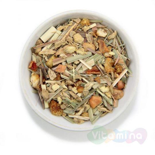 Травяной чай с имбирем - Имбирный лимонник, 100г