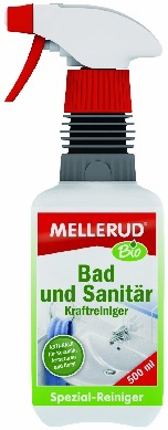 Mellerud Средство для очистки сильных загрязнений ванны и санузла Bio 500 мл