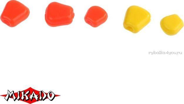 Купить Кукуруза силиконовая Mikado Trout Campione (чеснок) крупная / 001