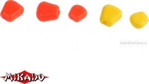 Кукуруза силиконовая Mikado Trout Campione  (чеснок) средняя / 001