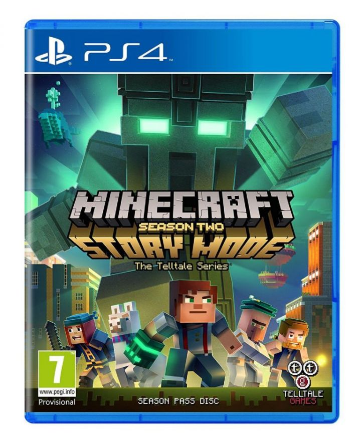 Игра Minecraft Story Mode Season Two (PS4)