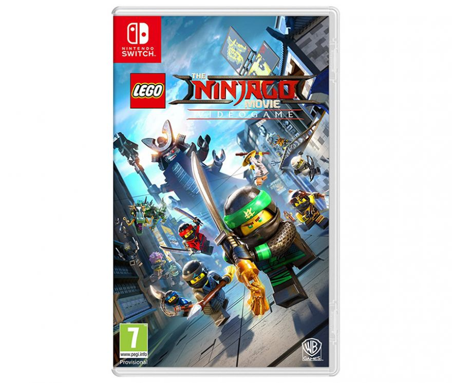 Игра Lego Ninjago Movie Videogame (Nintendo Switch)