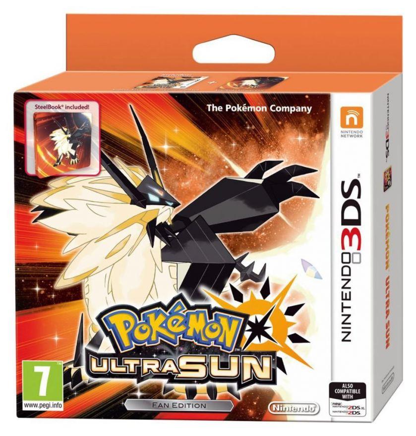 Игра Pokemon Ultra Sun Ограниченное издание (Nintendo 3DS)