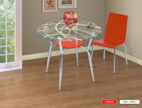 Стол обеденный  СО-1С 900*900 (стекло) (Марибель)