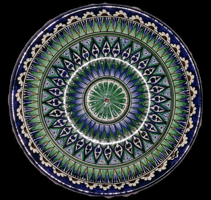 Керамическая тарелка для салатов и фруктов 32см