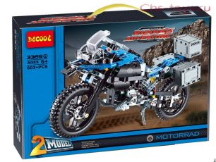 Конструктор Decool Technic Приключения на BMW 3369А (Аналог LEGO Technic 42063) 603 дет
