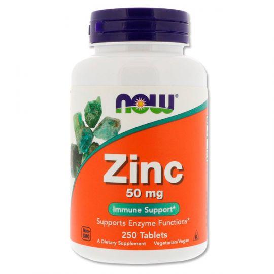 Цинк 50 мг Now Foods (250 таблеток)