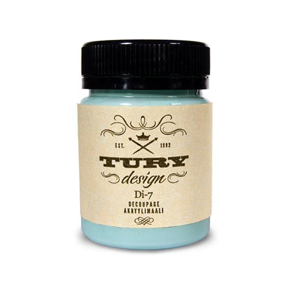 Краска акриловая Tury Design Di-7 цвет:туманный голубой 53-50 60 гр.
