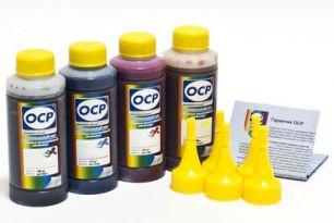 Комплект чернил OCP для HP #652/664/680  (BKP 225, С/M/Y 162), 100 g x4