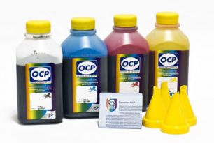 Комплект чернил OCP для HP #652/664/680  (BKP 225, С/M/Y 162), 500 g x4