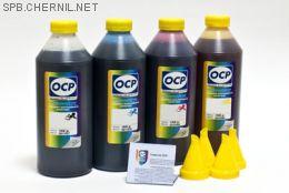 Комплект чернил OCP для HP #652/664/680  (BKP 225, С/M/Y 162), 1 kg x4