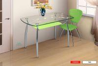 Стол обеденный  СО-3С 1200*700 (стекло) (Марибель)