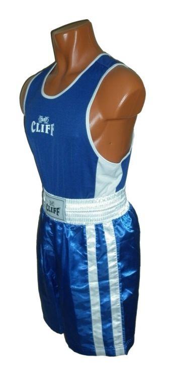 Форма боксёрская КЛИФ синяя, размер L