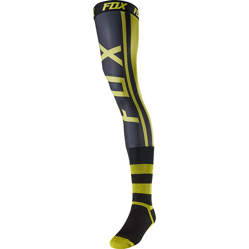 Fox - 2018 Proforma Knee Brace Socks Preest Dark Yellow гольфы, желтые
