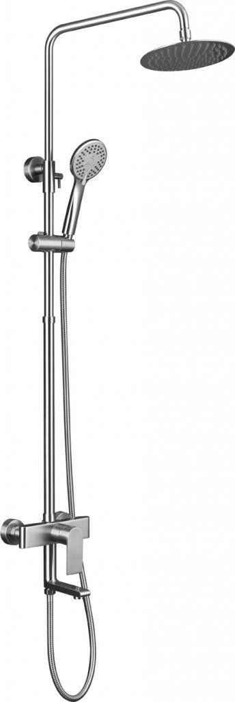 Душевая система с изливом для ванны BelBagno Nova ФОТО