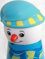 Термос детский Снеговик 320 мл голова