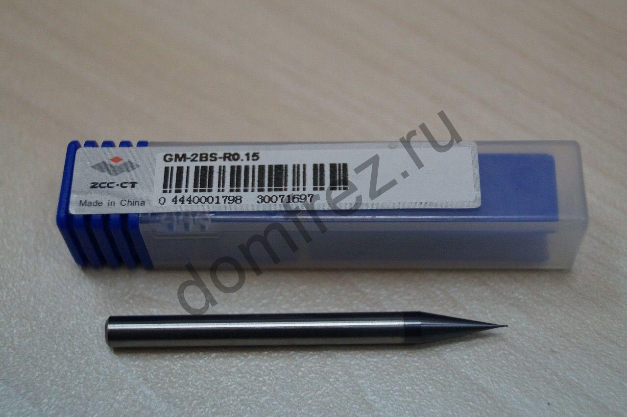 Фреза GM-2BS-R0.15