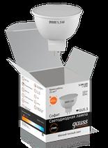 Лампа Gauss LED MR16 5.5W 220V 2700K