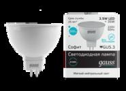 Лампа Gauss LED MR16 3.5W 4100K