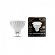 Лампа Gauss LED MR16 5W 12V 2700K
