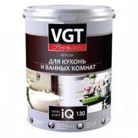 Краска для кухни и ванной IQ PREMIUM 130 2л влагостойкая ВГТ