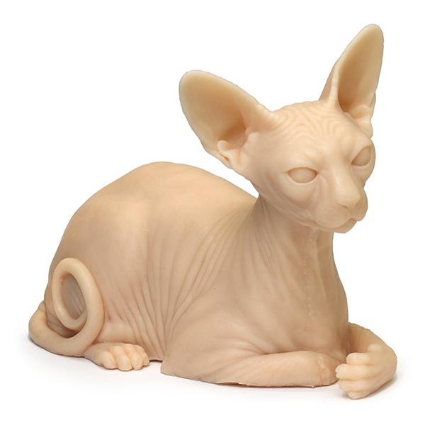 Кот силиконовый 1:1